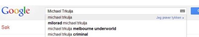 Trkjula Google search